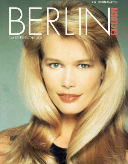 Cover Berlin Exclusiv 10 1998