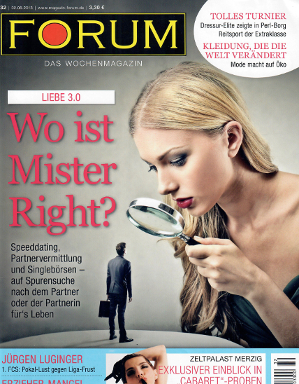 Forum partnervermittlung